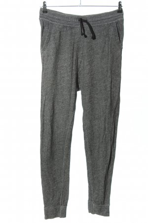 H&M Divided Pantalone fitness grigio chiaro puntinato stile casual