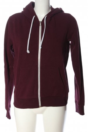 H&M Divided Sweatjacke rot Casual-Look