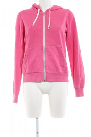 H&M Divided Sweatjack roze casual uitstraling
