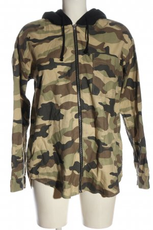 H&M Divided Sweatjacke Camouflagemuster Casual-Look