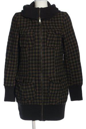 H&M Divided Kurtka dresowa brązowy-czarny Na całej powierzchni W stylu casual