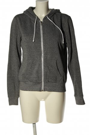 H&M Divided Sweatjack lichtgrijs casual uitstraling