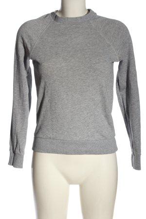 H&M Divided Sweatshirt hellgrau meliert Casual-Look