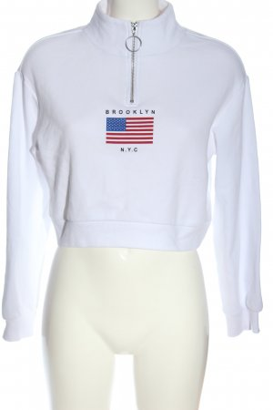 H&M Divided Sweatshirt Motivdruck Casual-Look