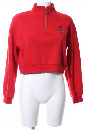 H&M Divided Sweatshirt rot Casual-Look