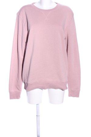 H&M Divided Sweatshirt rose style décontracté