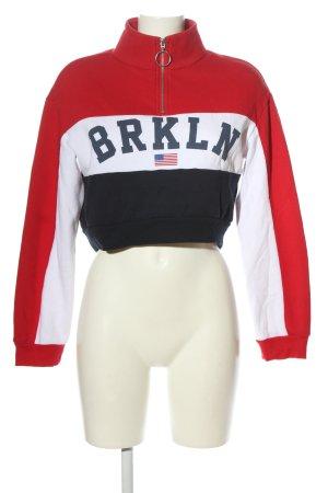 H&M Divided Sweatshirt Schriftzug gedruckt Casual-Look