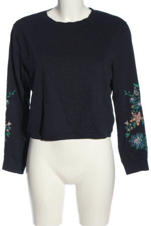H&M Divided Sweatshirt blau Casual-Look