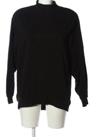 H&M Divided Sweatshirt schwarz Casual-Look