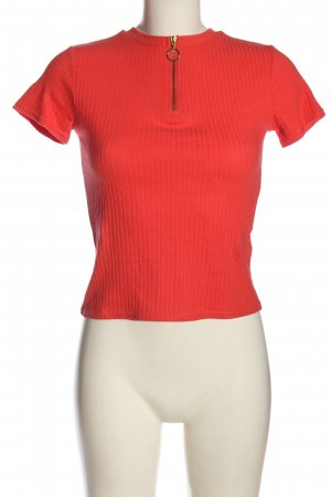 H&M Divided T-Shirt rot Casual-Look