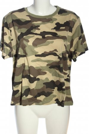 H&M Divided T-Shirt Allover-Druck Casual-Look