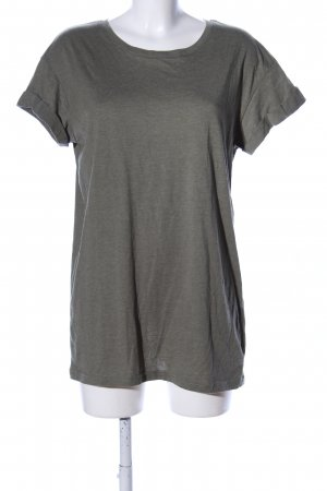 H&M Divided T-Shirt khaki meliert Casual-Look