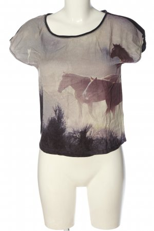H&M Divided T-Shirt Motivdruck Casual-Look
