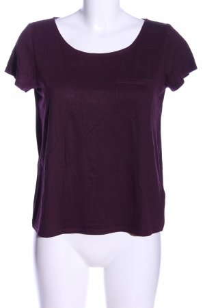 H&M Divided T-Shirt lila Casual-Look
