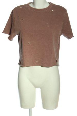 H&M Divided T-Shirt braun Casual-Look