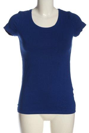 H&M Divided T-Shirt blau Casual-Look