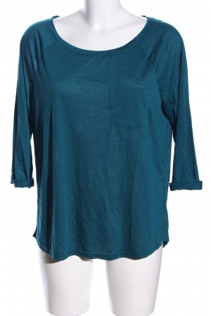 H&M Divided T-Shirt blau Casual-Look