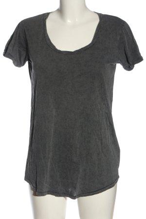 H&M Divided T-Shirt hellgrau Casual-Look