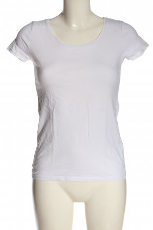 H&M Divided T-Shirt weiß Casual-Look