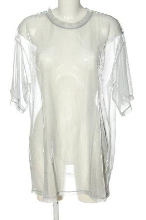 H&M Divided T-Shirt weiß extravaganter Stil
