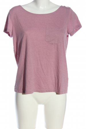 H&M Divided T-Shirt pink meliert Casual-Look