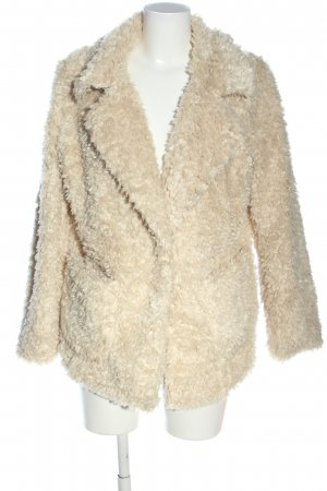 H&M Divided Teddymantel creme Casual-Look