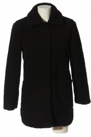 H&M Divided Teddy Coat black casual look