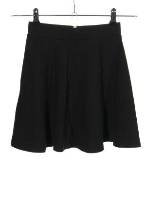 H&M Divided Falda circular negro look casual