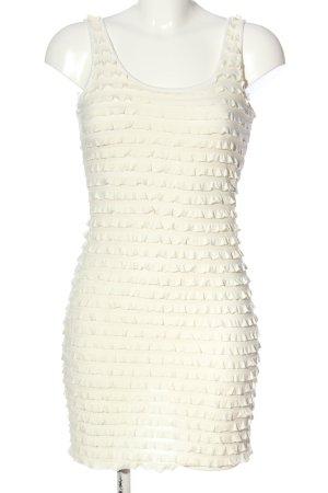 H&M Divided Trägerkleid wollweiß Elegant