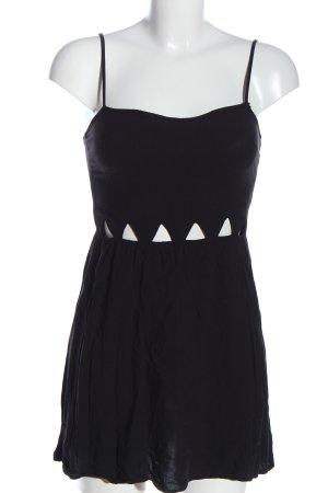 H&M Divided Trägerkleid schwarz extravaganter Stil