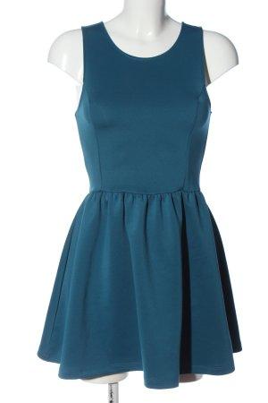 H&M Divided Trägerkleid blau Casual-Look