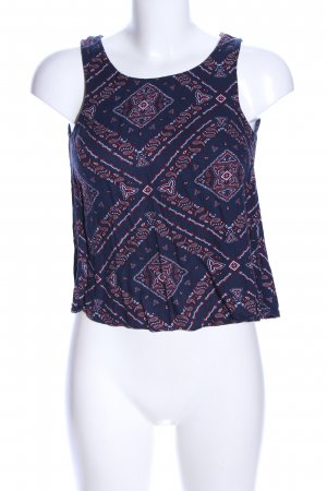 H&M Divided Trägertop Allover-Druck Casual-Look