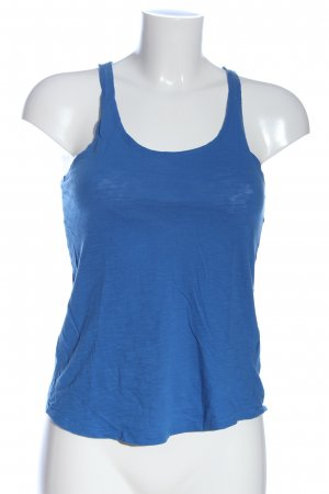 H&M Divided Trägertop blau Casual-Look