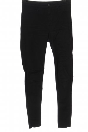 H&M Divided Stretch Jeans schwarz Casual-Look