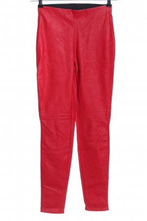 H&M Divided Treggings red casual look
