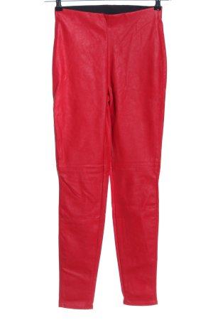 H&M Divided Tregging rouge style décontracté