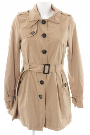 H&M Divided Trenchcoat nude Business-Look