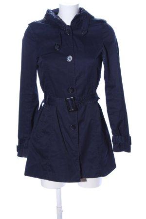 H&M Divided Trenchcoat blau Casual-Look