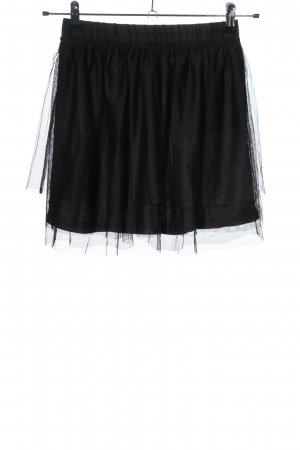 H&M Divided Gonna di tulle nero stile casual