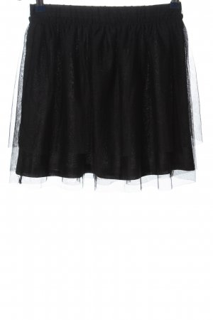 H&M Divided Tulle Skirt black casual look