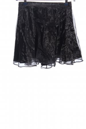 H&M Divided Tulle Skirt black extravagant style