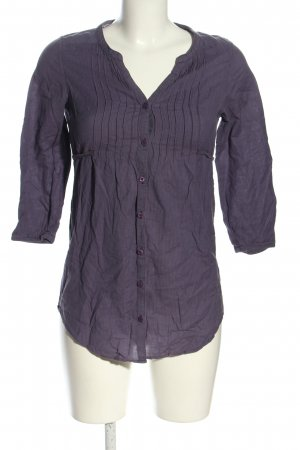 H&M Divided Tunic Blouse blue striped pattern casual look