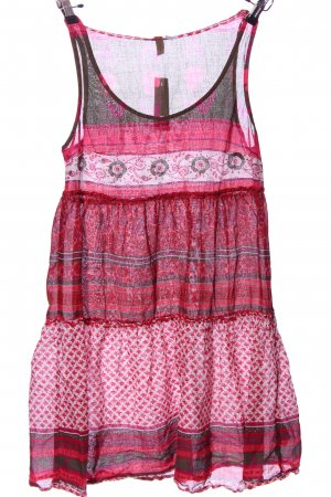 H&M Divided Tunikabluse pink-hellgrau Allover-Druck Casual-Look