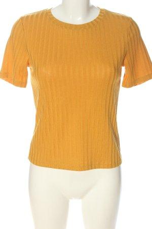 H&M Divided Boatneck Shirt light orange casual look