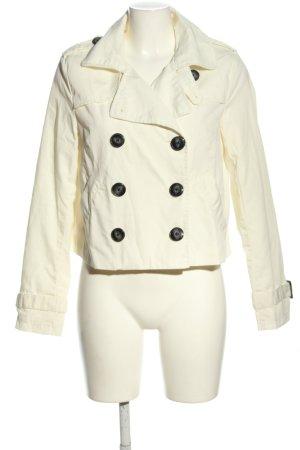 H&M Divided Kurtka przejściowa biały W stylu casual