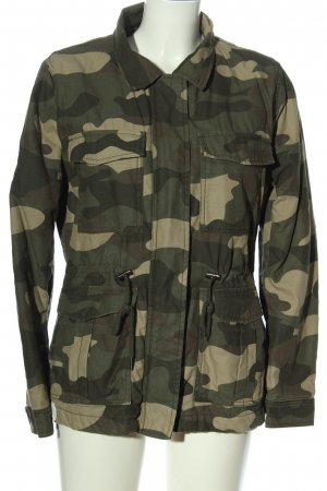 H&M Divided Übergangsjacke Camouflagemuster Casual-Look