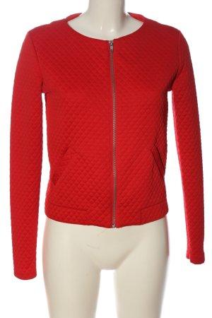 H&M Divided Kurtka przejściowa czerwony Pikowany wzór W stylu casual