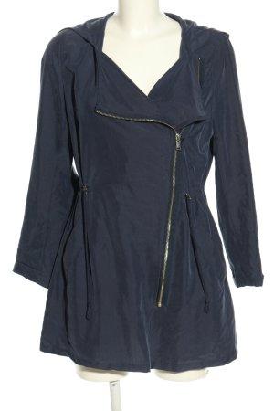 H&M Divided Übergangsjacke blau Casual-Look