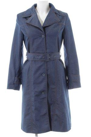 H&M Divided Übergangsmantel blau Casual-Look