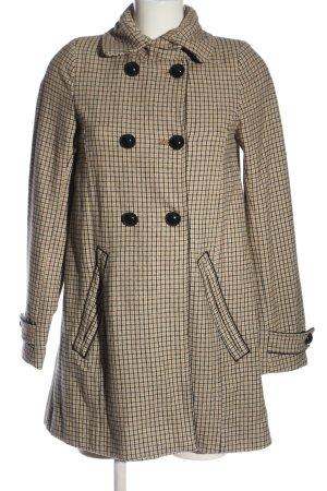 H&M Divided Between-Seasons-Coat check pattern casual look